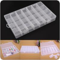 28 Grid PP Removable Multipurpose Transparent Organizer Container Storage Box Fit for Household Daily / Cosmetic / Jewelry / Tool Parts