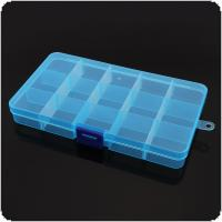 3 Colors 15 Grid Portable PP Removable Multipurpose Organizer Container Storage Box Fit for Household Daily / Cosmetic / Jewelry / Tool Parts