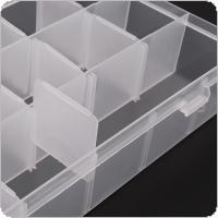 18 Grid  PP Removable Multipurpose Transparent Organizer Container Storage Box Fit for Household Daily / Cosmetic / Jewelry / Tool Parts