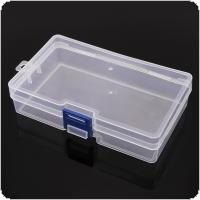 Transparent PP Portable Multipurpose Organizer Container Storage Box Fit for Household Daily / Cosmetic / Jewelry / Tool Parts
