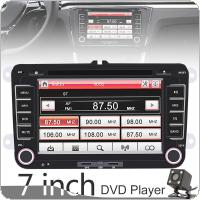 2 DIN 7 Inch HD Capacitive Touch Screen Bluetooth Car DVD MP5 GPS Navi Player with RDS + Camera Fit for Volkswagen VW Skoda Octavia Golf Passat Jetta Polo