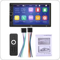 2 DIN 7 Inch HD Touch Screen Bluetooth  Car Stereo FM Radio MP5 Audio Player Support USB / AUX In /  Mirrorlink / Steering Wheel Control
