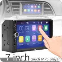 2 DIN 7 Inch HD Touch Screen Bluetooth  Car Stereo FM Radio MP5 Audio Player Support USB / AUX In /  Mirror Link / Steering Wheel Control