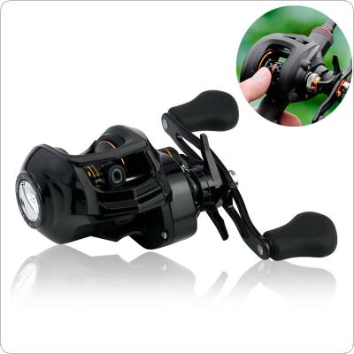 Fishing Bait Casting Reel 17+1BB High Speed 7.1:1 Gear Ratio Braking Force 8KG / 18LB with Right Left Hand Optional