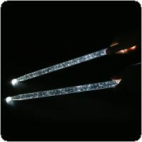 5A Acrylic Flash Drum Stick Noctilucent Glow in The Dark Stage Performance Luminous Jazz Drumsticks