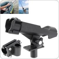 Fishing Support Rod Stand Bracket Yacht Fishing Tackle Tool 360 Degrees Rotatable Rod Holder for Boat Canoe and Kayak