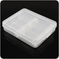 6 Grid PP Detachable Transparent Multipurpose Independent Display Storage Box Fit for Jewelry / Rings / Rhinestone / Nail Art / Tool Parts