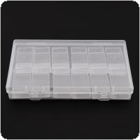 12 Grid PP Detachable Transparent Multipurpose Independent Display Storage Box Fit for Jewelry / Rings / Rhinestone / Nail Art / Tool Parts