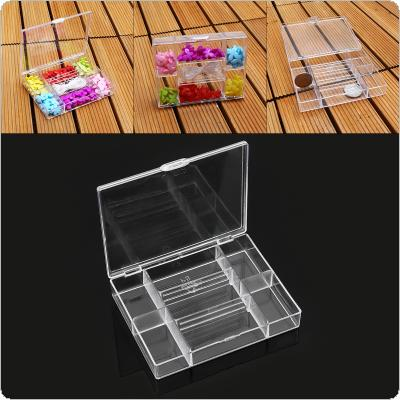 7 Grid PP Detachable Multipurpose Organizer Container Storage Box Fit for Household Daily / Cosmetic / Jewelry / Tool Parts