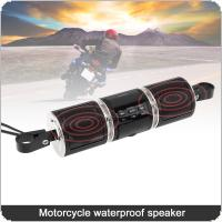 MT487 Motorcycle FM Radio Car Bluetooth Stereo Music Player Waterproof Anti-theft with USB Mp3 AUX Interface and Display Screen