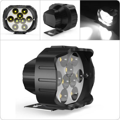9LED Motorcycle Electromobile Universal Headlights Modified Glare External Headlights 12 - 90V