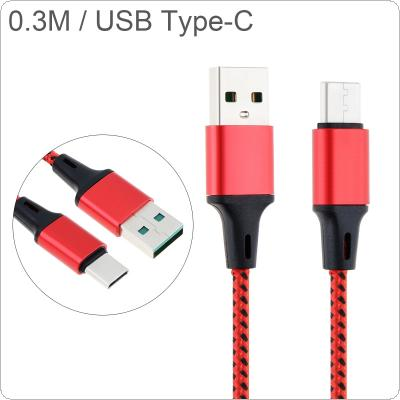 DiGiYes 0.3M/0.98Ft USBC Cable 3A Quick Charging Data Cable USB TypeC Cable Fit for Huawei Mate 30 Pro / Mate20 X / Mate10 / Mate10 Pro / P30 / P30 Pro