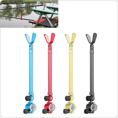 26-44cm Telescopic Aluminum Alloy Fishing Rod Holder Ultralight Fishing Pole Support