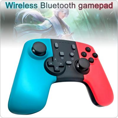 Wireless Bluetooth Gamepad Handle with Programming Keys + Color Shell + Built-in Gyroscope + One-click Connection to Console Fit for Switch Console / Switch Pro