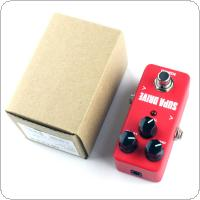 KOKKO Mini Electric Guitar Bass Effect Pedal Tuner / Supa Drive True Bypass Full Metal Shell