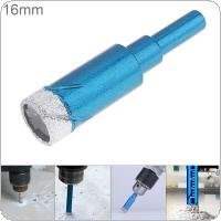 16mm Perforated Drill Electric Drill Hole Drill Bit Granite Marble Dry Hole Puncher Built-in Cooling Wax