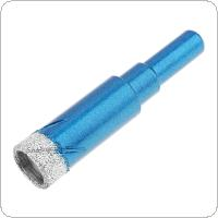 14mm Perforated Drill Electric Drill Hole Drill Bit Granite Marble Dry Hole Puncher Built-in Cooling Wax