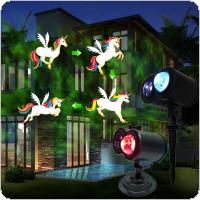 LED Card Animation Light Stage Light Projector Light Decoration Light for Christmas / Halloween / Birthday / Wedding / Party / Stage