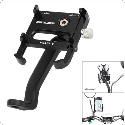 Motorcycle Mobile Phone GPS Holder Universal 360 Degrees Rotate Thicken Aluminum Alloy Electromobile Bike Stand Bracket