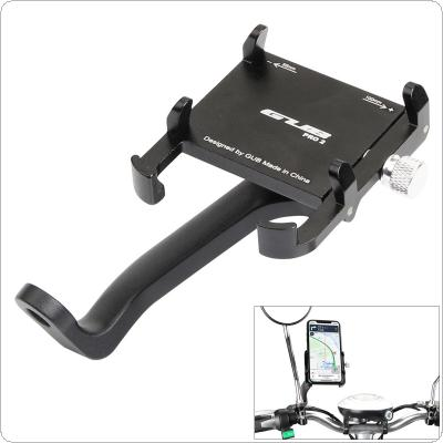 Motorcycle Mobile Phone GPS Holder Universal 360 Degrees Rotate Waterproof Aluminum Alloy Electromobile Holder