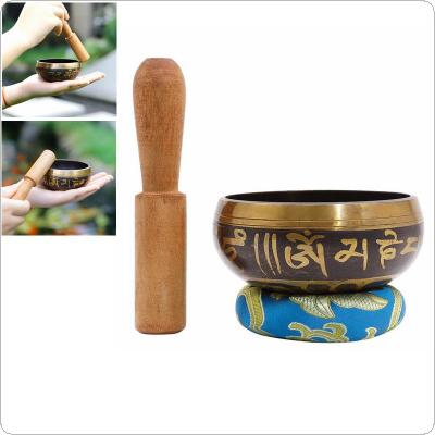 Nepal Singing Bowl Himalayan Buddhist Yoga Meditation Ritual Music Therapy Tibetan Song Bowl