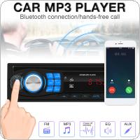 12V Bluetooth Car Radio MP3 Player Vehicle Stereo Audio with Remote Control Support FM / USB / SD / AUX In