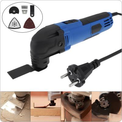 280W 220V 6 - Speed Hand-held Multi-function Electric Trimming Oscillating Machine Cutting Tool for Woodworking / Polishing / Trepanning