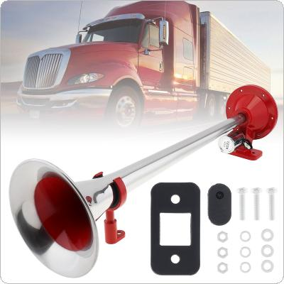 12V 150dB Single Trumpet Musical Air Horn Kit with Dustproof Compressor Super Loud Fit for Truck Lorry Boat Train