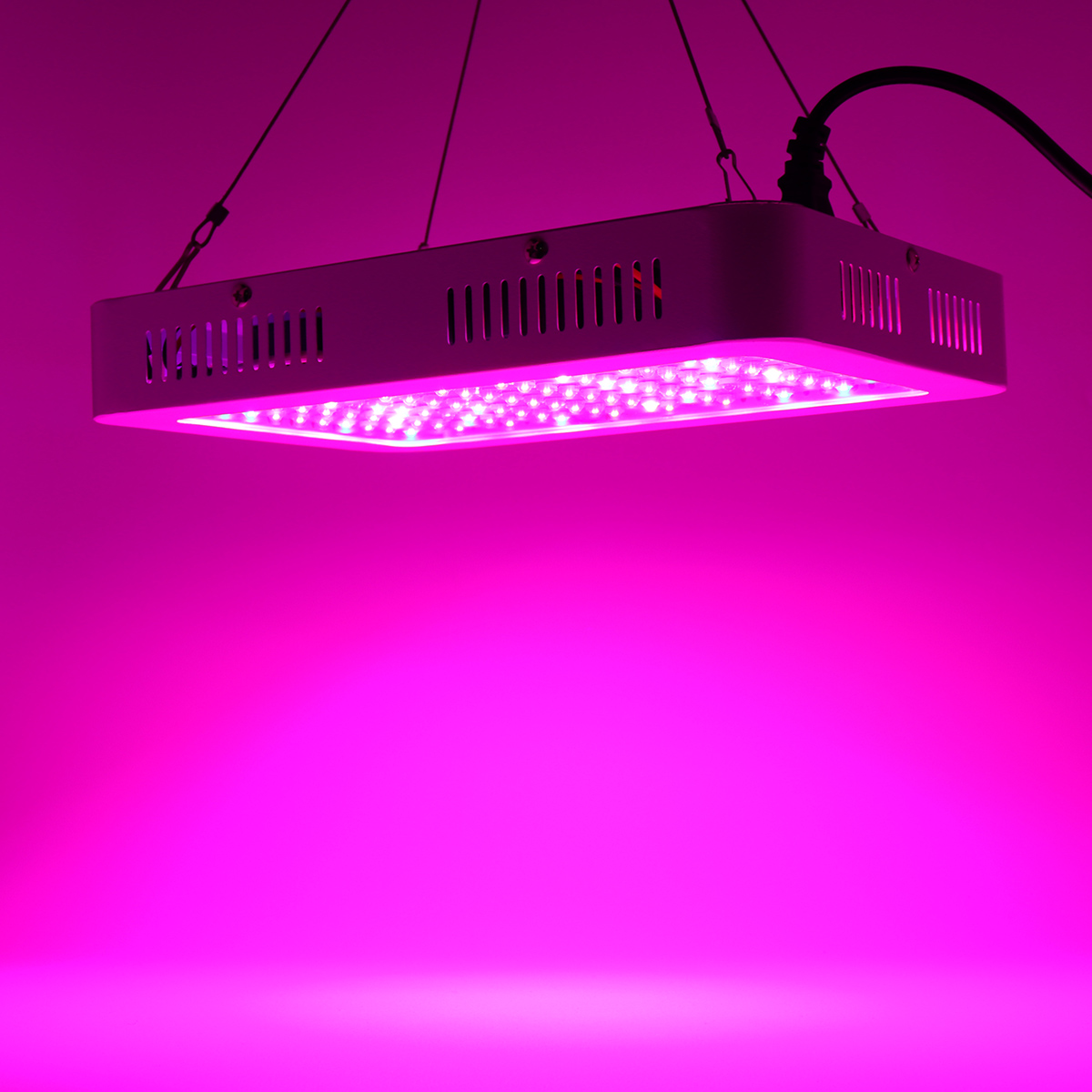 100pcs LED Plant Grow Light 1000W Full Spectrum Sunlike Plant Light Dual Chip with ON/Off Double Switch for Plants / Seedling / Succulents / Growing / Blooming