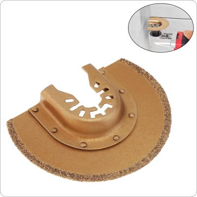 88mm Gold Cemented Carbide Large Semicircular Saw Blade  Power Tool Accessories Fit for Wood Cutting / Sheet Grinding / PVC Cutting / Nail Cutting