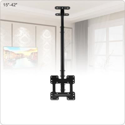 Universal  50KG Adjustable TV Flat Panel Wall Cantilever Hanger with Cable Clip and Small Wrench for 15 - 42 Inch LCD LED Monitor