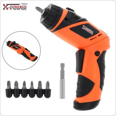 Power Tool 4 x 5AA Dry Cell Type Mini Electric Screwdriver for Furniture Installation / Screwing / Corner Repair / Wood Punching / Electrical Maintenance