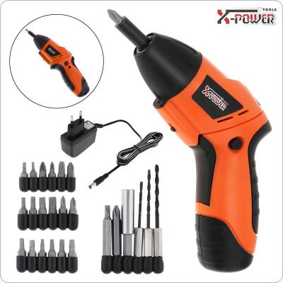 Power Tool 4.8V 24pcs Rechargeable Mini Screwdriver for Furniture Installation / Screwing / Corner Repair / Wood Punching / Electrical Maintenance