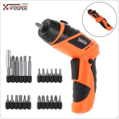 Power Tool 4.8V Rechargeable Mini Screwdriver for Furniture Installation / Screwing / Corner Repair / Wood Punching / Electrical Maintenance