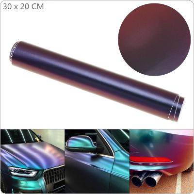 30 x 20cm PVC Glossy Side  Blue / Purple Discolor Automobile Decoration Modification Sticker Fit for Car / Motorcycle / Electronic Product / Home