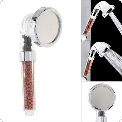 Big Size ABS Anion Filter SPA Saving Pressurized Boost Rainfall Shower Head Support Third Gear Adjustment for Bathroom