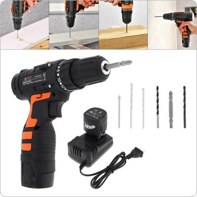 Power Tool 16.8V Rechargeable Mini Screwdriver Multifunctional Lithium Hand Drill for Screwing / Corner Repair / Wood Punching
