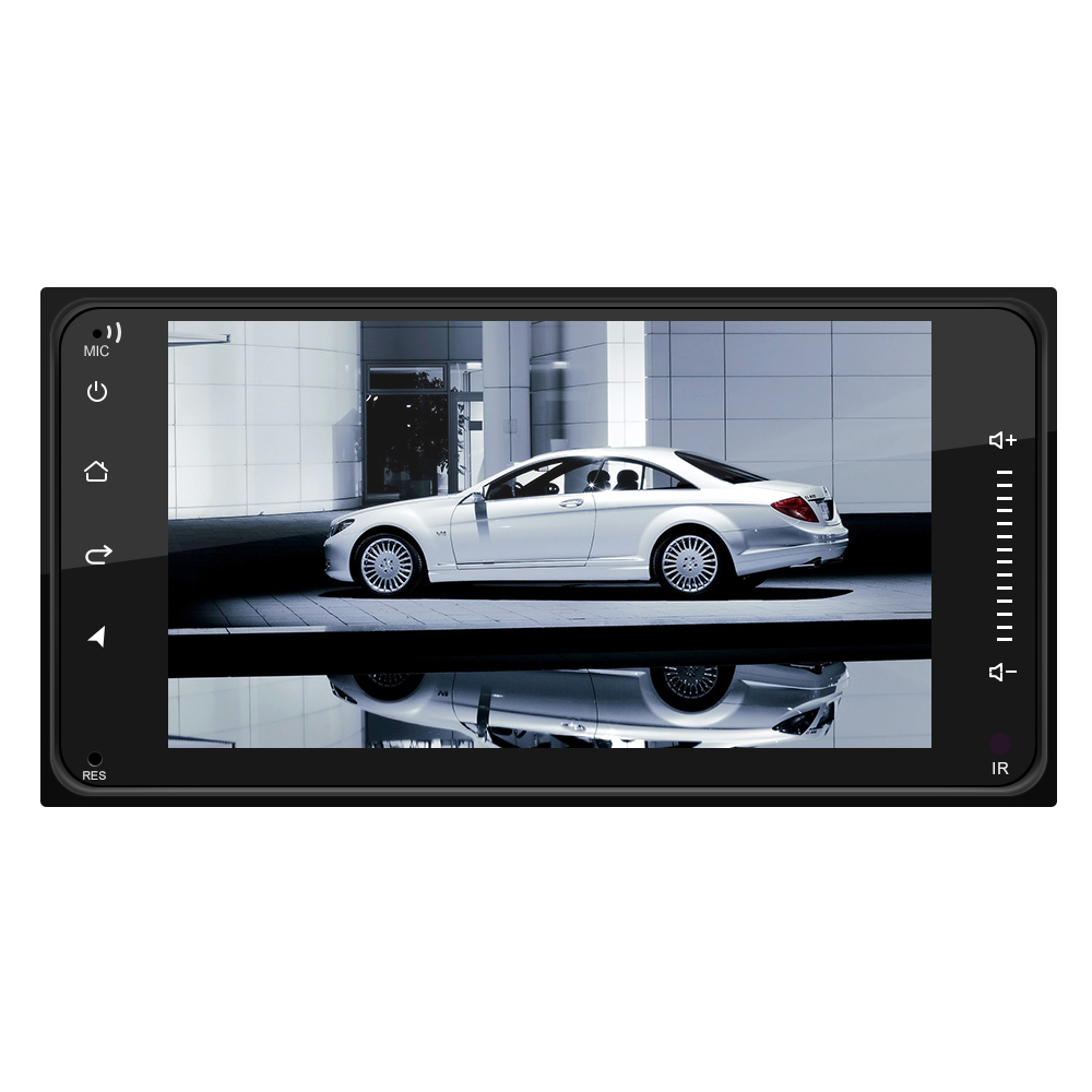2 DIN 7 Inch Android 8.1 HD Capacitive Touch Screen Bluetooth Car MP5 Player Support  DVR / MirrorLink / FM Function / Car Life Fit for Toyota