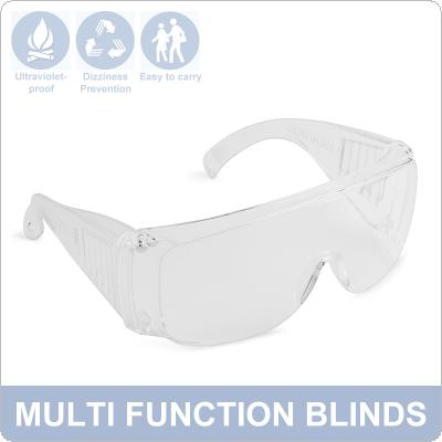 Transparent Safety Glasses Anti-splash Eye Protection Goggles Anti-fog Dust-proof Outdoor Wind-proof UV-proof Goggles Medical Eyewear