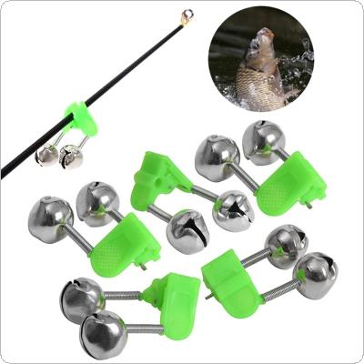5pcs/lot Bite Alarms fishing Rod Bells Fishing Accessory Rod Clamp Tip Clip Bell Ring