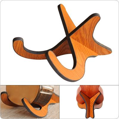 Ukulele Violin Holder Stand Wooden Foldable Holder Stand Collapsible Vertical Display Stand Rack Accessories