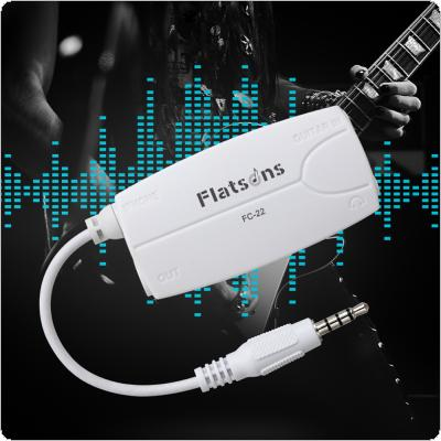 3.5mm Output Guitar Bass to Smartphone Effect Interface Connection Adapter Audio Connector Fit for iPhone iPad