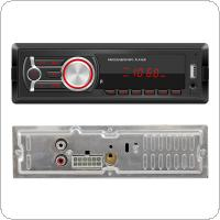 Universal 1 Din Bluetooth  Car Radio Multimedia Player with Front Detachable Panel