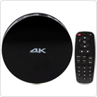 MEASY B4A Bt 4.0 Wireless Bluetooth Ultra HD 4K x 2K Media Box with S812 &  H.265 & HEVC Functions Fit for Android