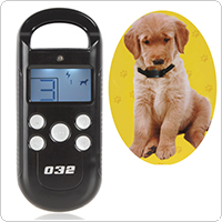 LCD Display Screen Rechargeable 4 Shock Levels Remote Training System for Pets & Dogs