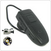 Multifunctional Bluetooth Shaped Mini Spy Camera With 4GB Built-in Memory Capacity
