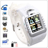 1.3 Inch Pink, White, Black Color Touch Screen Watch Mobile Phone Support Camera