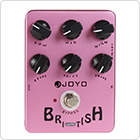 Joyo JF-16 Amp Simulator Guitar Pedal with British Sound Effects & 6 Knobs