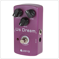 Joyo JF-34 US Dream Guitar Pedal with High Gain Distortion & True Bypass & 3 Knobs