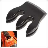 3 Prong Practical Metal Black Violin Mute for 1/8-4/4 Violin